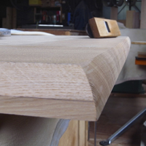 天板 木口・木端面 削り