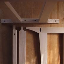 展示台テーブル組み