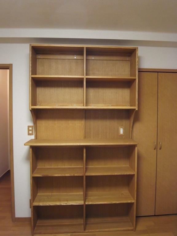 書類棚正面