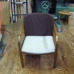 椅子背布巻き