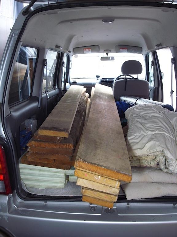 材木仕入れ