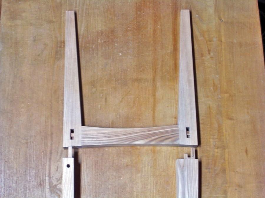 ベンチ木組み