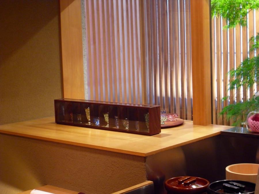 切子グラスケース