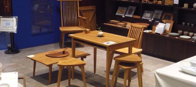 丸善・日本橋店「月見の器と木工展」無事に終了しました