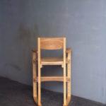 子供椅子 後ろ面