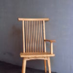 片肘回転椅子 斜め面