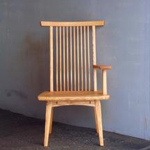 片肘回転椅子