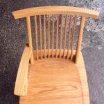 片肘回転椅子 座面