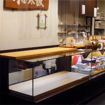 和菓子屋さん商品台