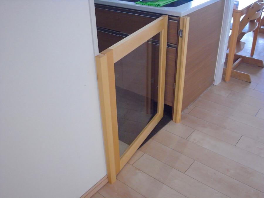 キッチン扉取り付け