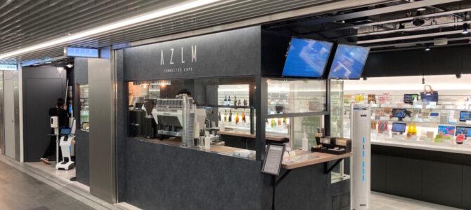 渋谷地下街 AZLM CONNECTED CAFE 展示販売